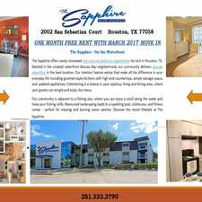 Rental info for Sapphire at Nassau Bay, The