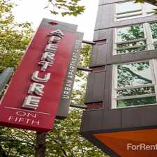 Rental info for Aperture on Fifth in the Seattle area