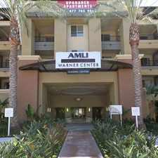 Rental info for AMLI Warner Center