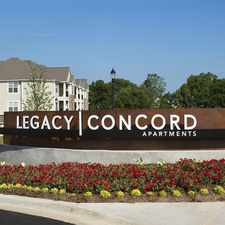Rental info for Legacy Concord in the Concord area