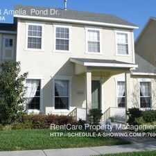 Rental info for 13863 Amelia Pond Dr.