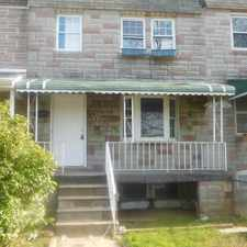 Rental info for Updated porch front home offers a spacious living room with a bay window! in the Curtis Bay area