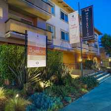 Rental info for The Montecito in the Los Angeles area