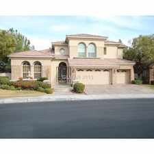 Rental info for Guard Gated Summerlin *4 Bed*4 Full Bath* - WD 1.1 in the Las Vegas area