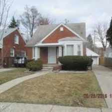 Rental info for Call to view this beautiful 3 bedroom, brick home in a nice neighborhood with 1 full bath, 1/2 bath, 2 car garage, finished basement, security doors on front and side entrances along with refrigerator, stove and dishwasher.