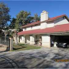 Rental info for Beautiful 2 story Panoramic View home on 1/2 Acre in the Riverside area
