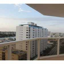 Rental info for 6423 Collins Avenue