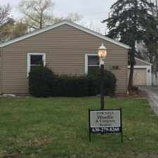 Rental info for DES PLAINES~LOCAL BANK OWNED RANCH~CUL DE SAC~ 3BDRMS