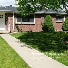 Rental info for 1545 S. Gaylord St in the University area