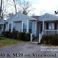 Rental info for 224 Vinewood Road