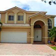 Rental info for Spectacular Home With Lake! Must See! in the Miramar area
