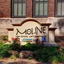 Rental info for Moline High School Lofts