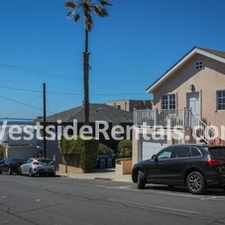 Rental info for Bright, spacious 1 bdrm 1 bath, 1 block to beach, all wood floors, private patio, 1 car garage