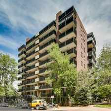 Rental info for 1200 Vine Street #4D in the Cheesman Park area