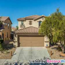 Rental info for 40326 W Peggy Ct in the Maricopa area