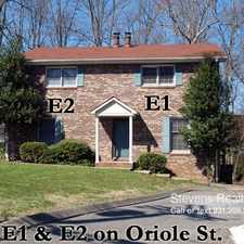 Rental info for 328 Oriole Drive