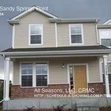 Rental info for 7722 Sandy Springs Point