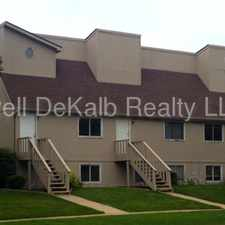 Rental info for Townhomes on the corner of Normal and Edgebrook