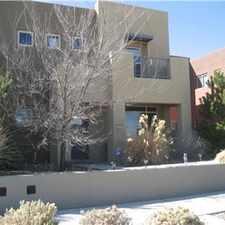Rental info for Townhome Rental, Mesa del Sol