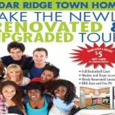 Rental info for Cedar Ridge Townhomes