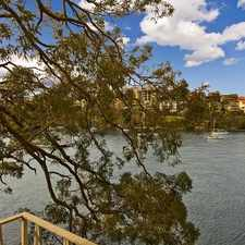 Rental info for Waterfront apartment in boutique complex in the Kurraba Point area