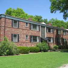 Rental info for 6416 Jamieson - Spacious Updated 1-Bedrooom on Willmore Park in the St. Louis Hills area