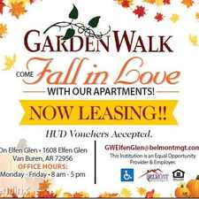 Rental info for GardenWalk on Elfen Glen