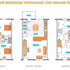 Rental info for Copper Beech Townhomes and Apartments - Radford