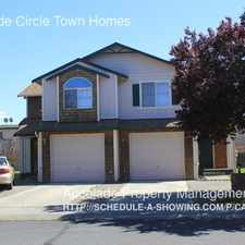 Rental info for Creekside Circle Town Homes