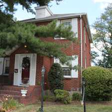 Rental info for Charming Colonial in North Arlington