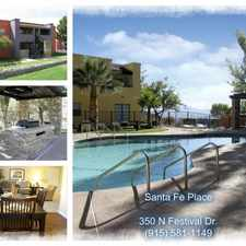Rental info for THE BEST OF THE WEST in the Festival Hills area