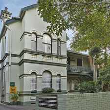 Rental info for Quiet One Bedroom Victorian Conversion in the Sydney area