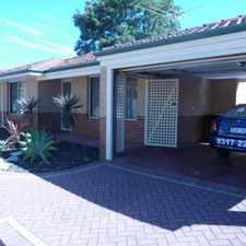 Rental info for Great Location - Cul De Sac Villa in the Perth area