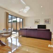 Rental info for FANTASTIC ALMOST NEW 3 BEDROOM PLUS STUDY TOWNHOUSE! in the Melbourne area