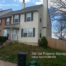 Rental info for 32 Townview Drive