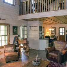 Rental info for 3BD/3BA partially furnished cabin in Big Canoe.
