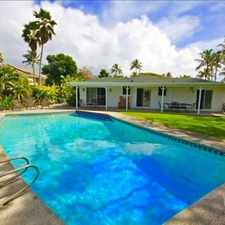 Rental info for $6500 4 bedroom House in Kailua