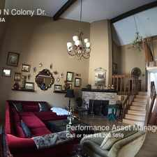 Rental info for 12930 N COLONY DR.