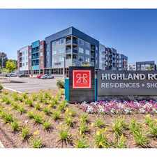 Rental info for Highland Row in the East Buntyn area