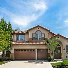 Rental info for $6000 4 bedroom House in Rancho Santa Margarita