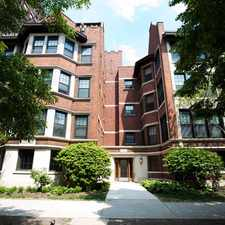 Rental info for 5325 S. Hyde Park Boulevard