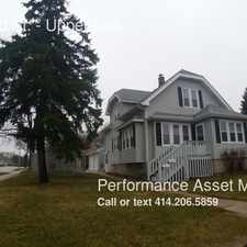 Rental info for 2975 S 92nd St. in the West Allis area