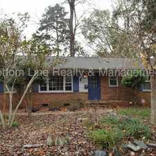 Rental info for Nice 3 bedroom home! in the Charlotte area