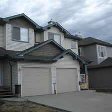 Rental info for Fabulous 3 +1 Bedroom Duplex in South Terwillegar Fenced/Landscaped; Fireplace; Attached garage in the Terwillegar South area