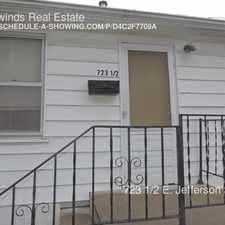 Rental info for 723 1/2 E. Jefferson Street