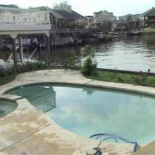 Rental info for Gorgeously updated Waterfront home with a pool and spa. Washer/Dryer Hookups!