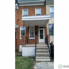 Rental info for Very nice remodeled rowhome in Belair Edison neighborhood!!! in the 4X4 area