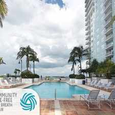 Rental info for Yacht Club at Brickell Apartments in the Downtown area