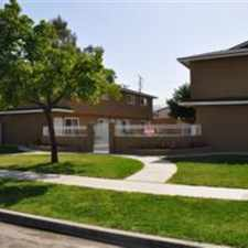Rental info for Updated townhome unit has upstairs and downstairs and lots of room. Central A/C will keep you cool in the summer. The rooms also have ceiling fans to add a gentle breeze. There is a patio in the back with a small yard. It is ready to rent today!