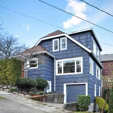 Rental info for Capitol Hill Craftsman 3 BR / 1.5 BTH With Breathtaking Views!